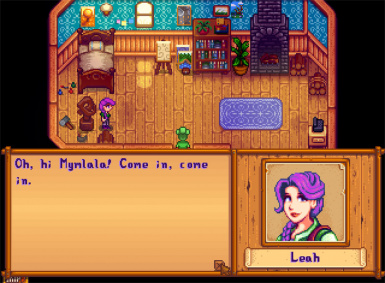 Magenta Haired Leah