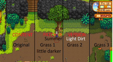 (CP) A Less Yellow Stardew (1.3.xx)  (All in game Languages)