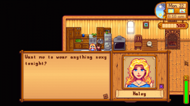 Haley - Marriage Dialogue