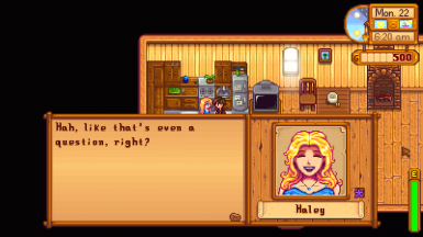 Haley - Marriage Dialogue (2)