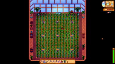 15x15 Greenhouse for Content Patcher