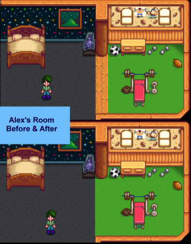 Alex's Room (Before and After)