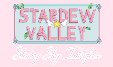 Starry Sky Interface (Cute Pastel Magical Girl Palette) for Content Patcher