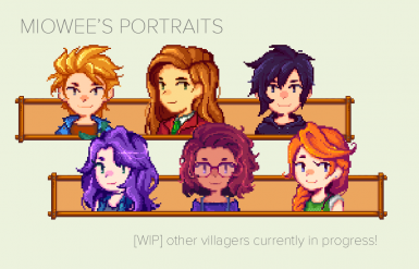 Miowee's Portraits (Content Patcher Edition)