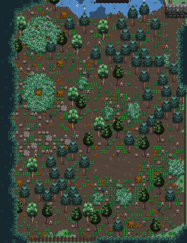 Acerbicon's Forest Extra Area