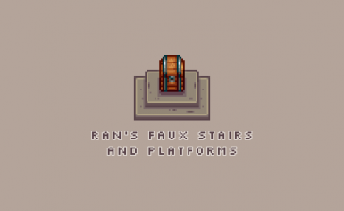 Ran's Faux Stairs and Platforms