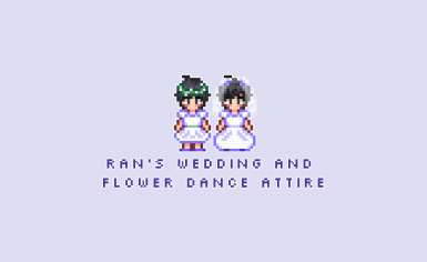 Ran's Wedding and Flower Dance Attire