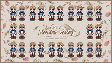 Coii's Hair Sets Pack at Stardew Valley Nexus - Mods and community