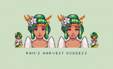 Ran's Harvest Goddess