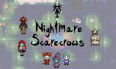 NMBC Scarecrows! Add NEW items to the game, animated, working scarecrows!