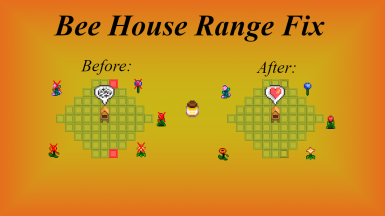 Bee House Flower Range Fix