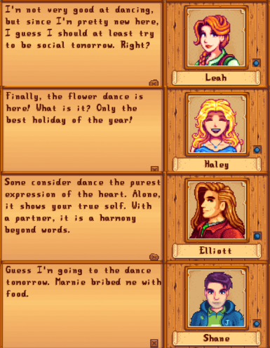 Stardew Valley Gift of Gab - Marriage Candidate Edition at