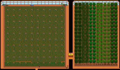 Expanded Foraging Farm