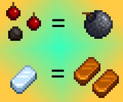 Crafting Recipes Expanded
