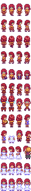 Penny Sprite Alternate Hairstyle