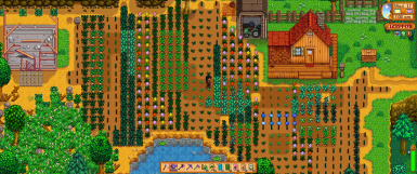 Crops Watered Indicator