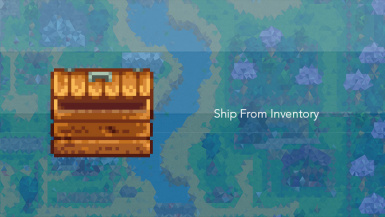 Ship from Inventory