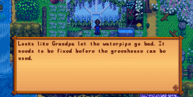 Greenhouse Message