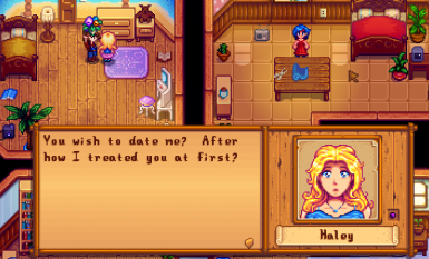 MissCoriel's NPC Unique Courtship Response 3 -  I know we're married