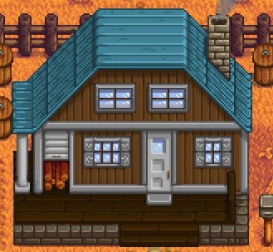 House (Final Upgrade) Color Mod at Stardew Valley Nexus - Mods and ...