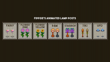 Fippsie's Animated Lamp Posts