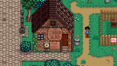 Stone Sign in default location with Starblue Valley recolor