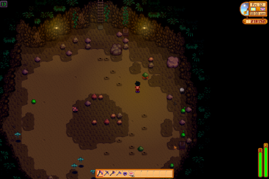 Obvious Rock Crab Monsters in the Mines
