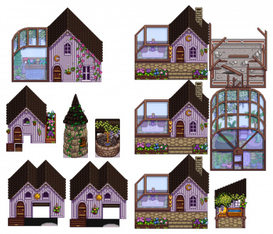 Witchy-Gothic buildings