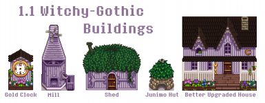 updated buildings