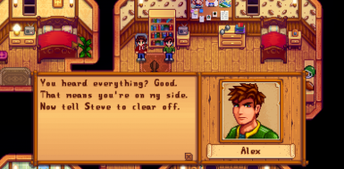 Snippet of a heart event with Alex ;)