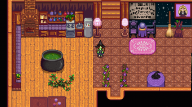Witchy-Gothic Interior UPDATED FOR 1.1 at Stardew Valley ...