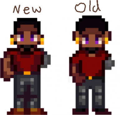 New and Old Sprites
