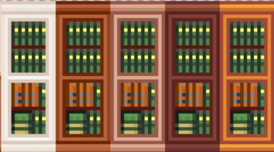 Built in Bookcase Style Walls