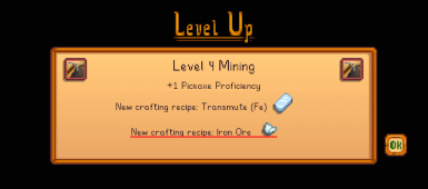 After reaching Mining Level 4