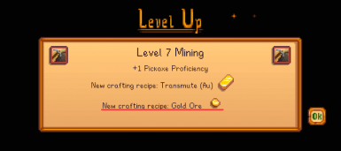 After reaching Mining Level 7