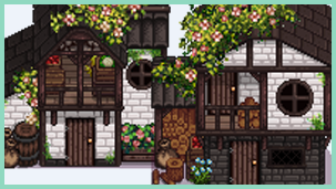 Medieval Shed - 2 designs - CP
