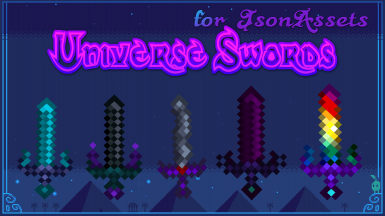 Universe Swords - for JsonAssets