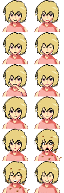 Higurashi Portraits and Sprites