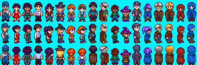 Slightly Cuter Characters - SVE Edition