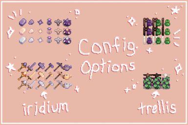 config. options