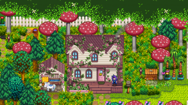 Ali's Overgrown Fairy Buildings