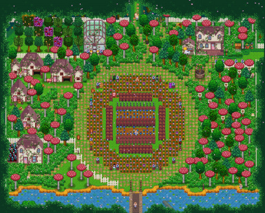 Ali's Secret Forest Farm Map 1.1 UPDATED