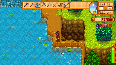 Found another fishing spot and fishing it!