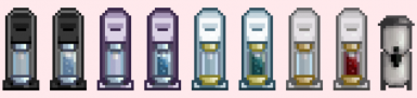 Brand Spanking New Look for every machine!! NOW THEY ACTUALLY LOOK LIKE SODA MAKERS!