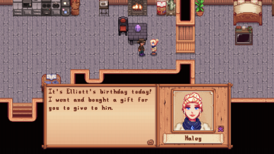 A Birthday gift for Elliott