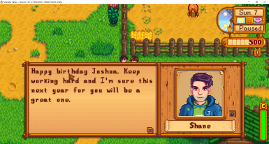 birthday shane