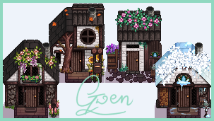 Medieval Cabins - CP