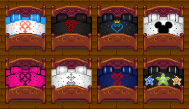 Kingdom Hearts Bedspreads
