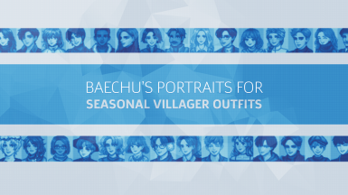 Baechu's Portraits for Seasonal Villager Outfits