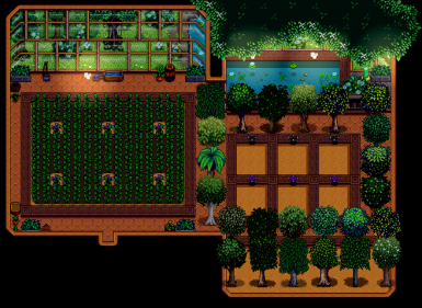 Wren's Expanded Greenhouse